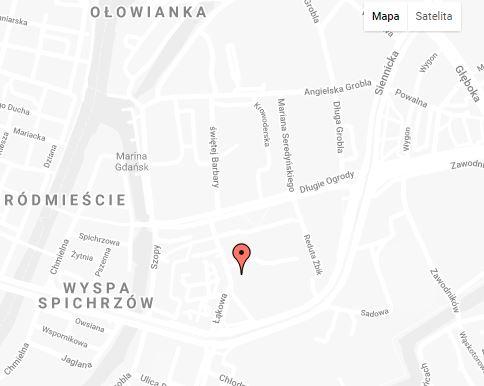 Mapa apartament Sadowa